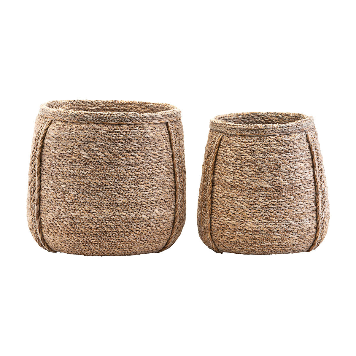 Seagrass Basket, natural Plant pot storage from House doctor