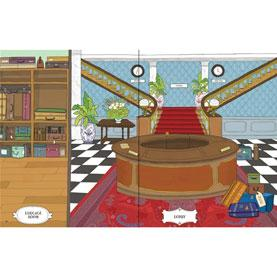 usbourne grand hotel dolls house sticker book
