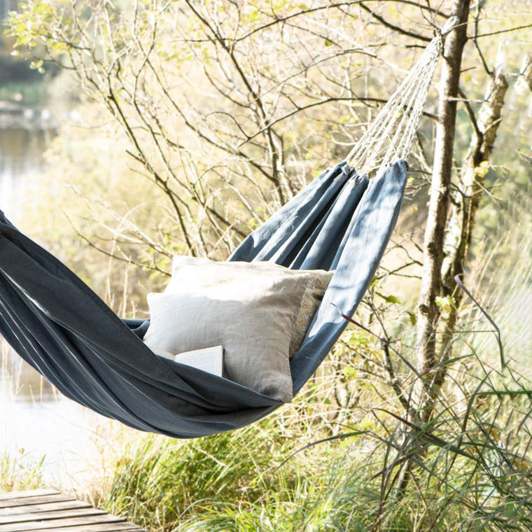 Denim hammock IB Laursen garden outdoor space