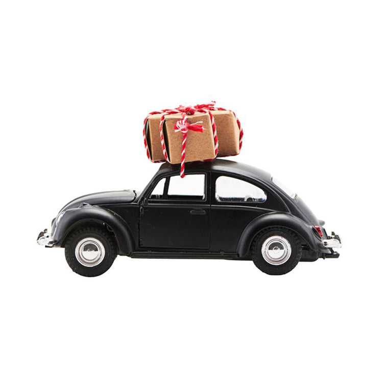 Christmas Car Black Beetle