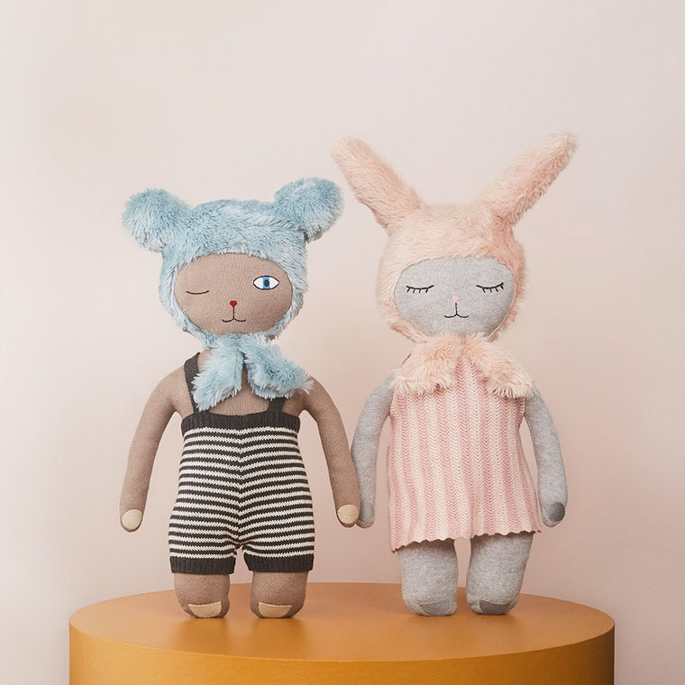 Hopsi and Topsi dolls from Oyoy living design