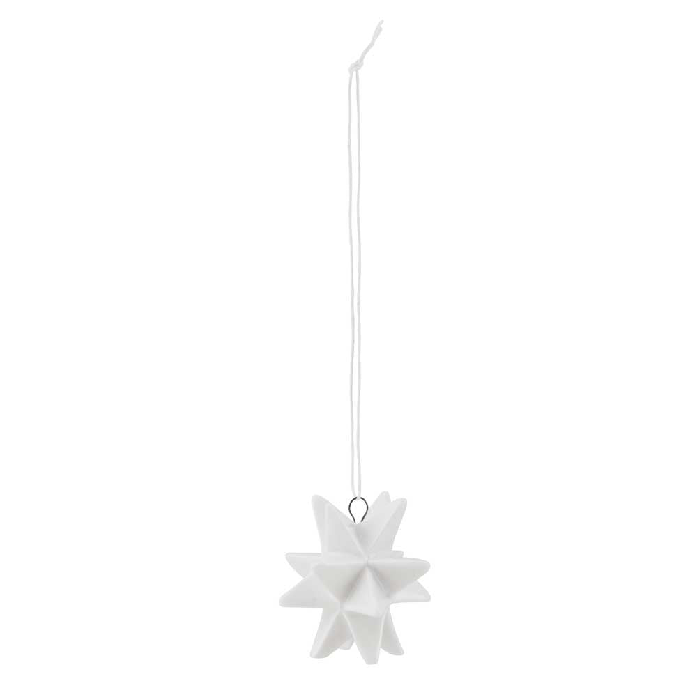 Ceramic Star White Small