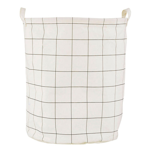 white squares Laundry Bag Toy Storage from house doctor