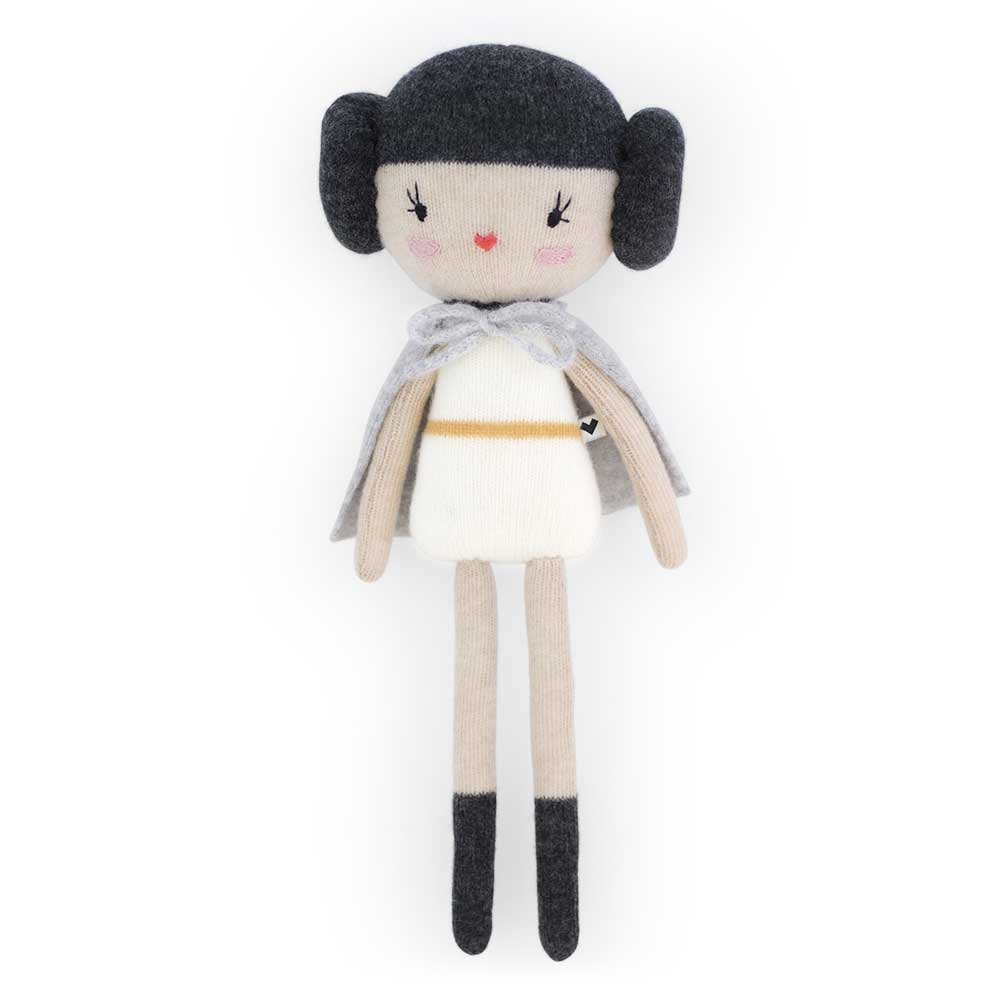 Lauvely The space princess knitted doll