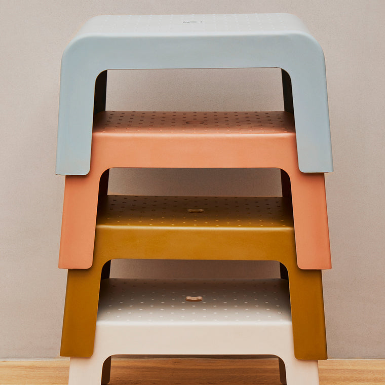 Ulla Step Stool - terracotta Liewood