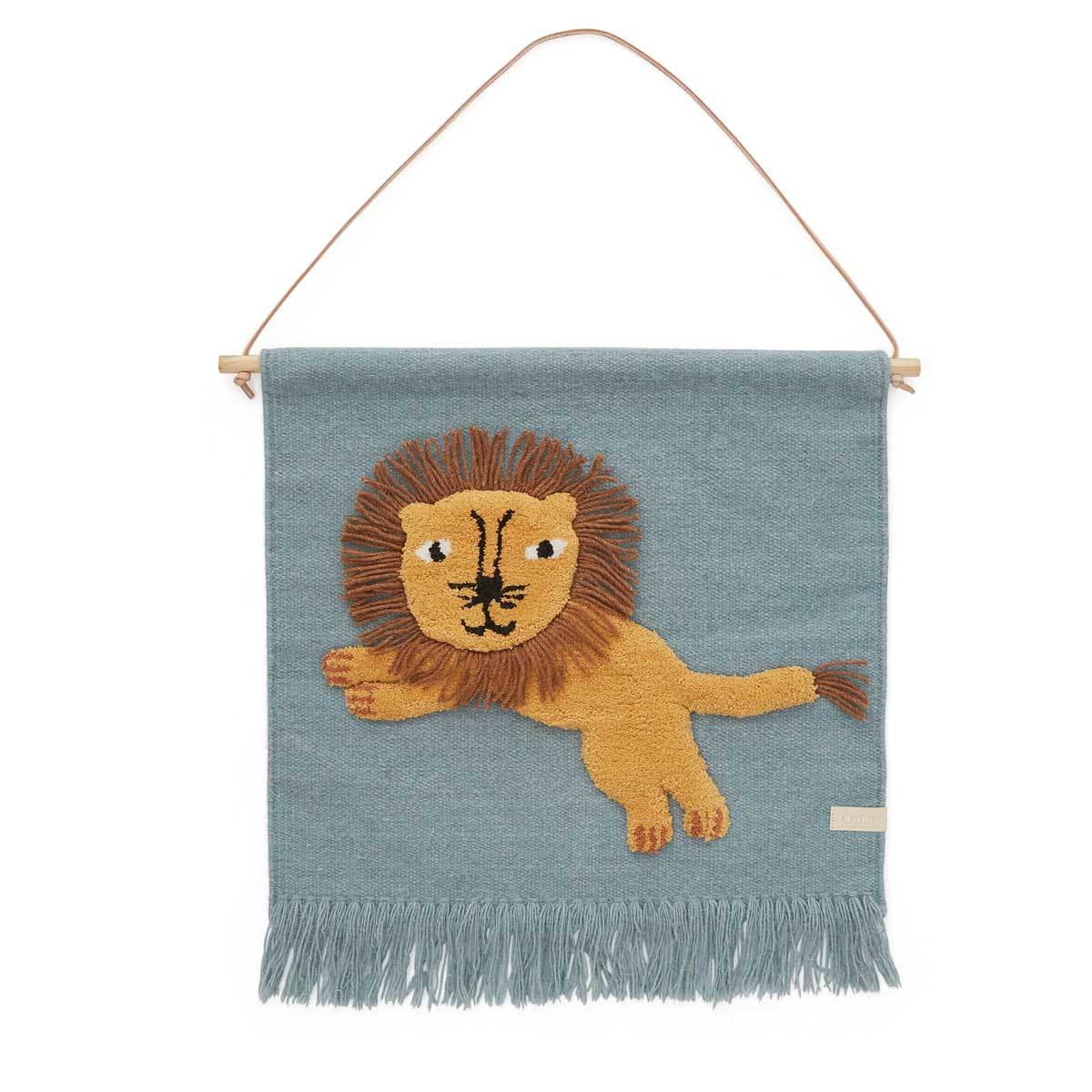 OYOY living design Jumping lion wall hanging
