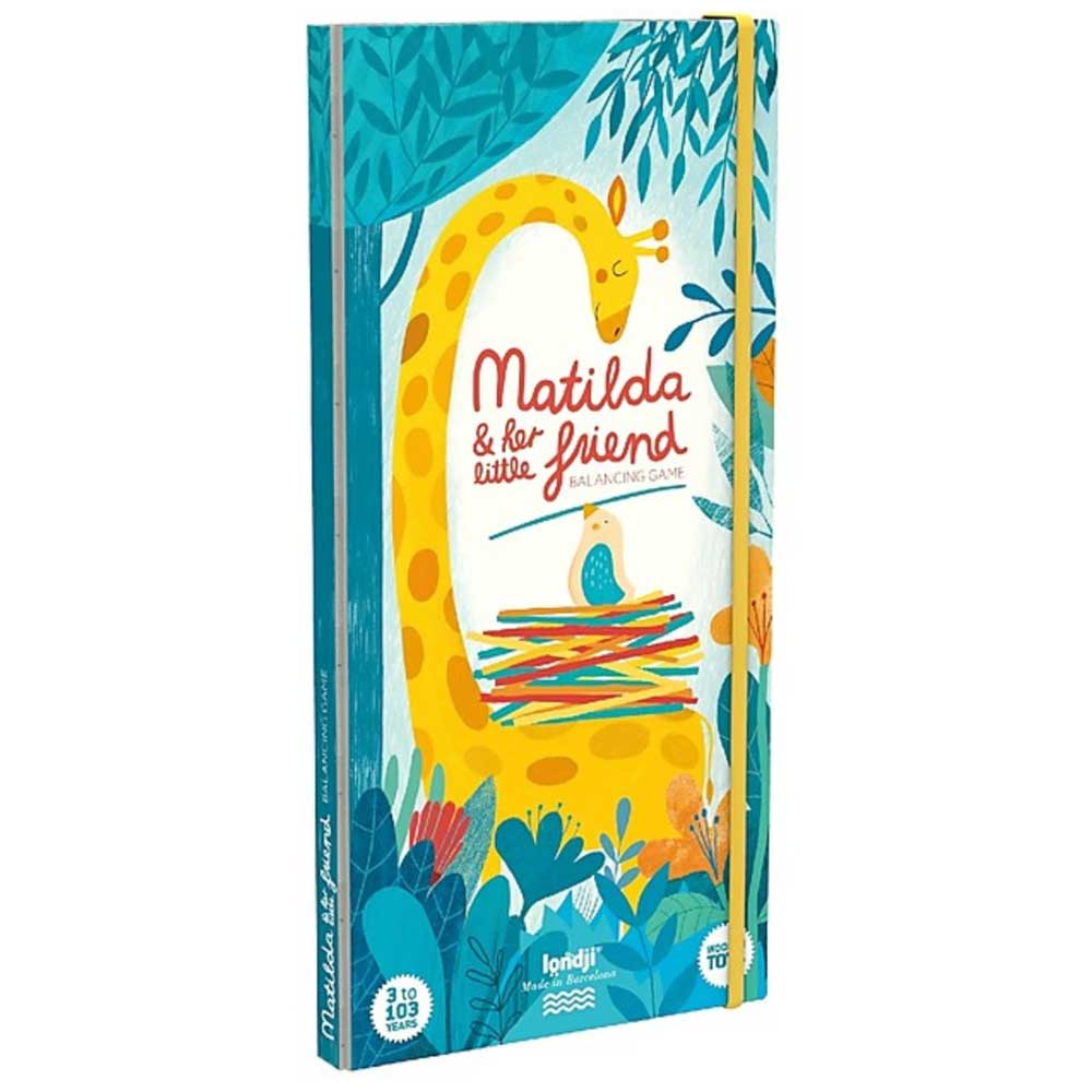 Matilda and her little friends stacking game Londji
