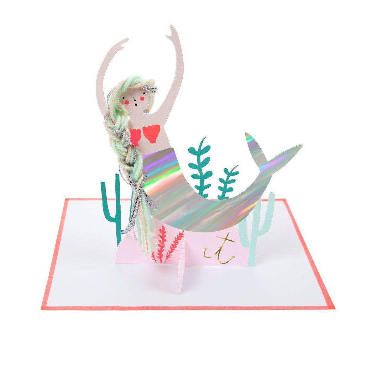 Meri Meri Mermaid Scene Card