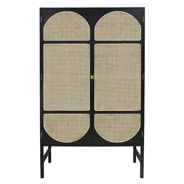 retro webbing clothing cabinet
