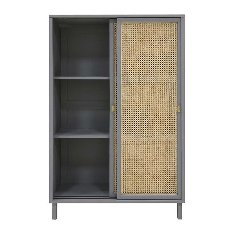 webbing sliding door cabinet Grey or Black