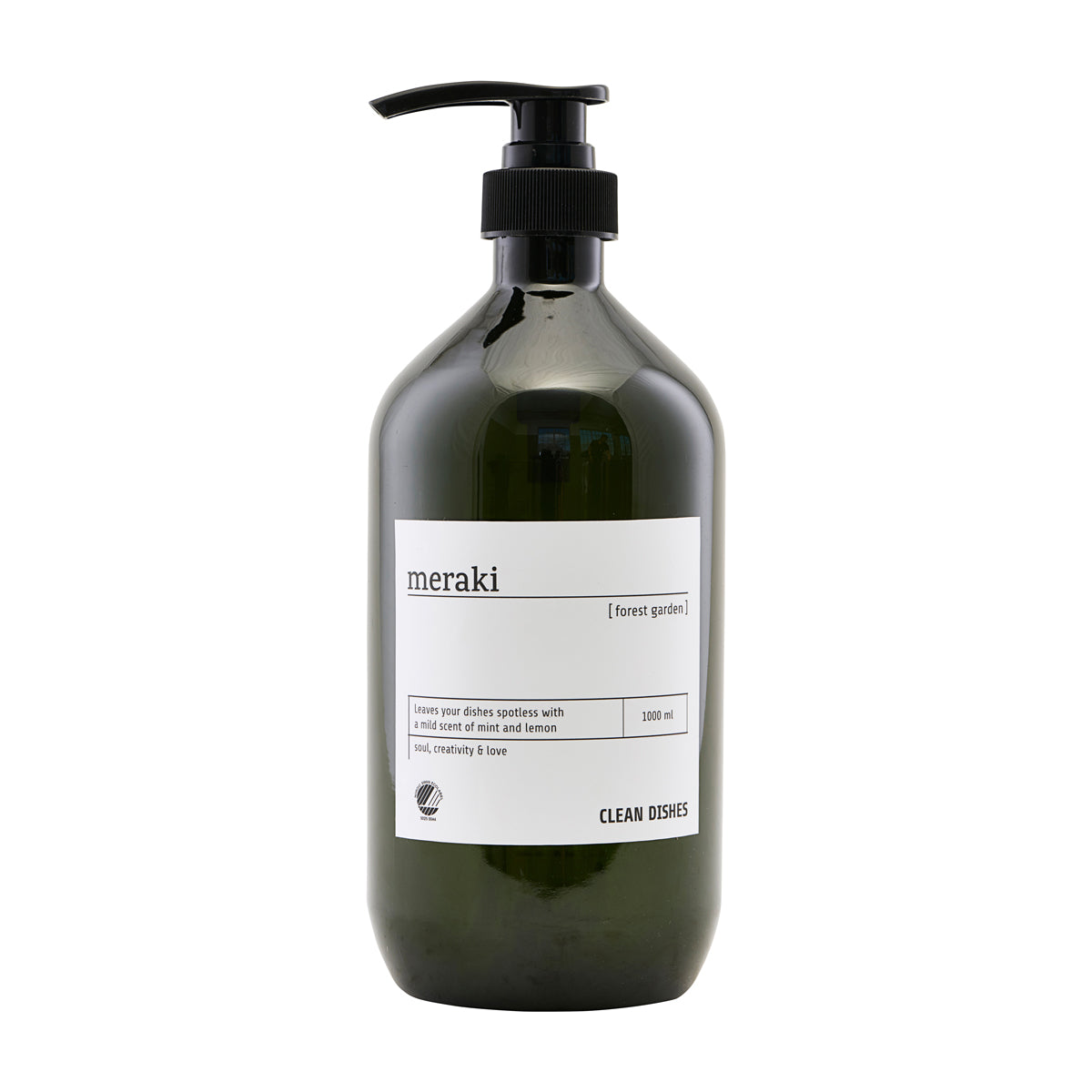 Meraki Dish wash, Forest garden, h: 24.4 cm, 1000 ml/33.8 fl.oz