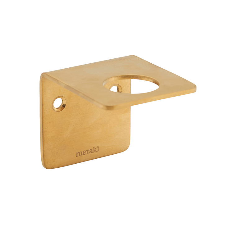 Wall Bracket, Brushed brass finish