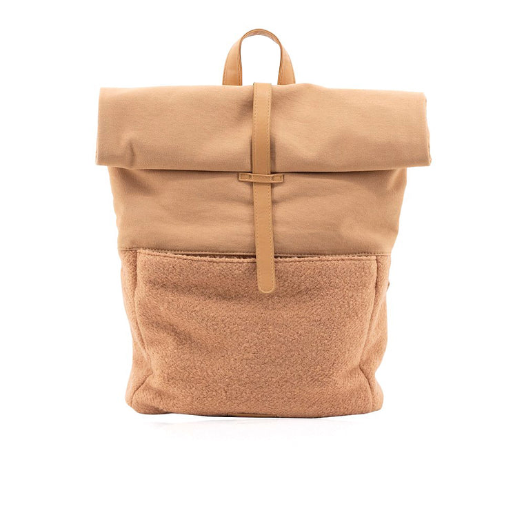 Herb backpack | wool | cashew