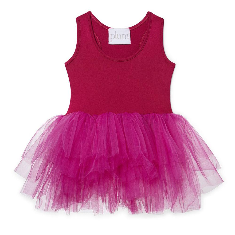 Olivia tutu I love plum NYC Bright pink