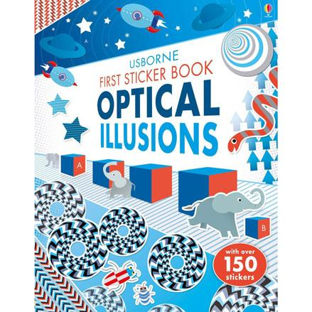 First sticker book Optical Illusion