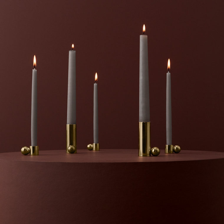 Brass Palloa Candleholder - small oyoy living design