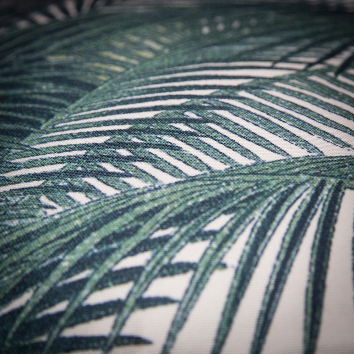 Palm leaf cushion HK Living TKU2010