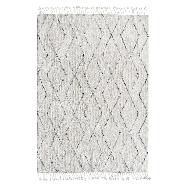 Cotton Berber Rug 140 x 200