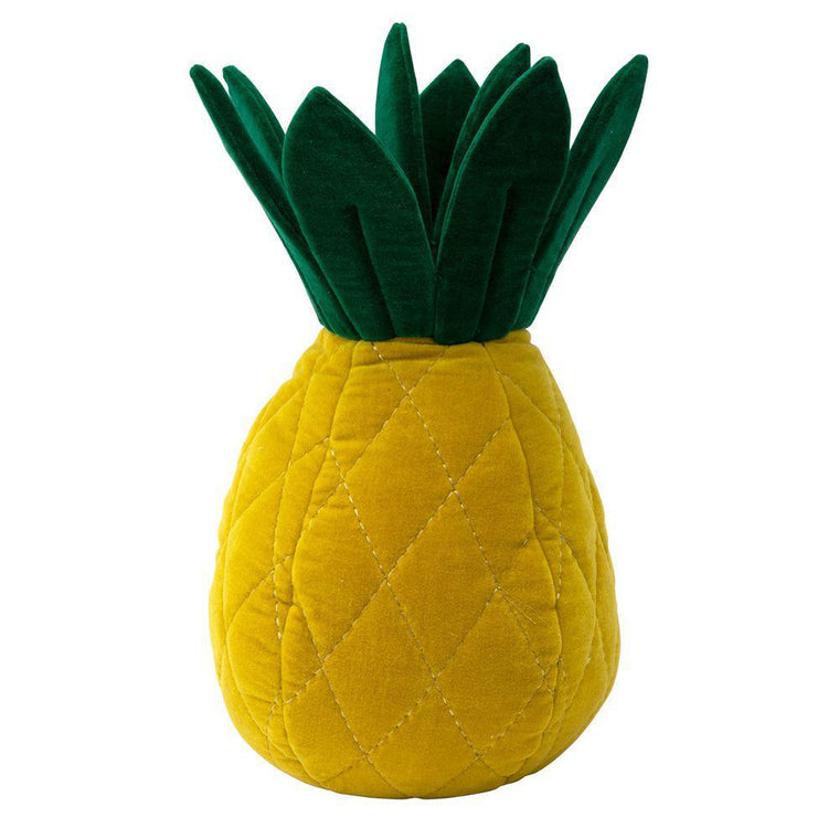 Pineapple Velvet Cushion