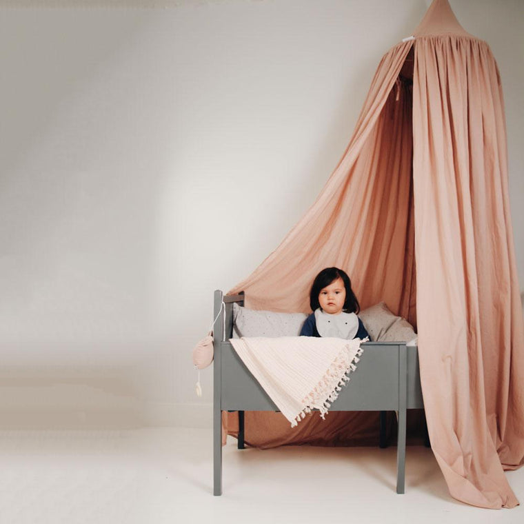 Liewood Enzo Bed Canopy Rose Organic cotton
