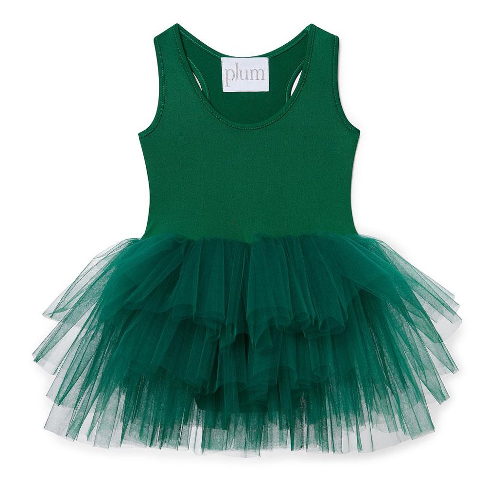 Olive tutu I love plum NYC age 4-5 years