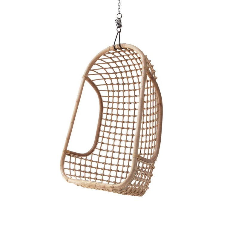 Pre-order Hanging Chair Rattan - natural