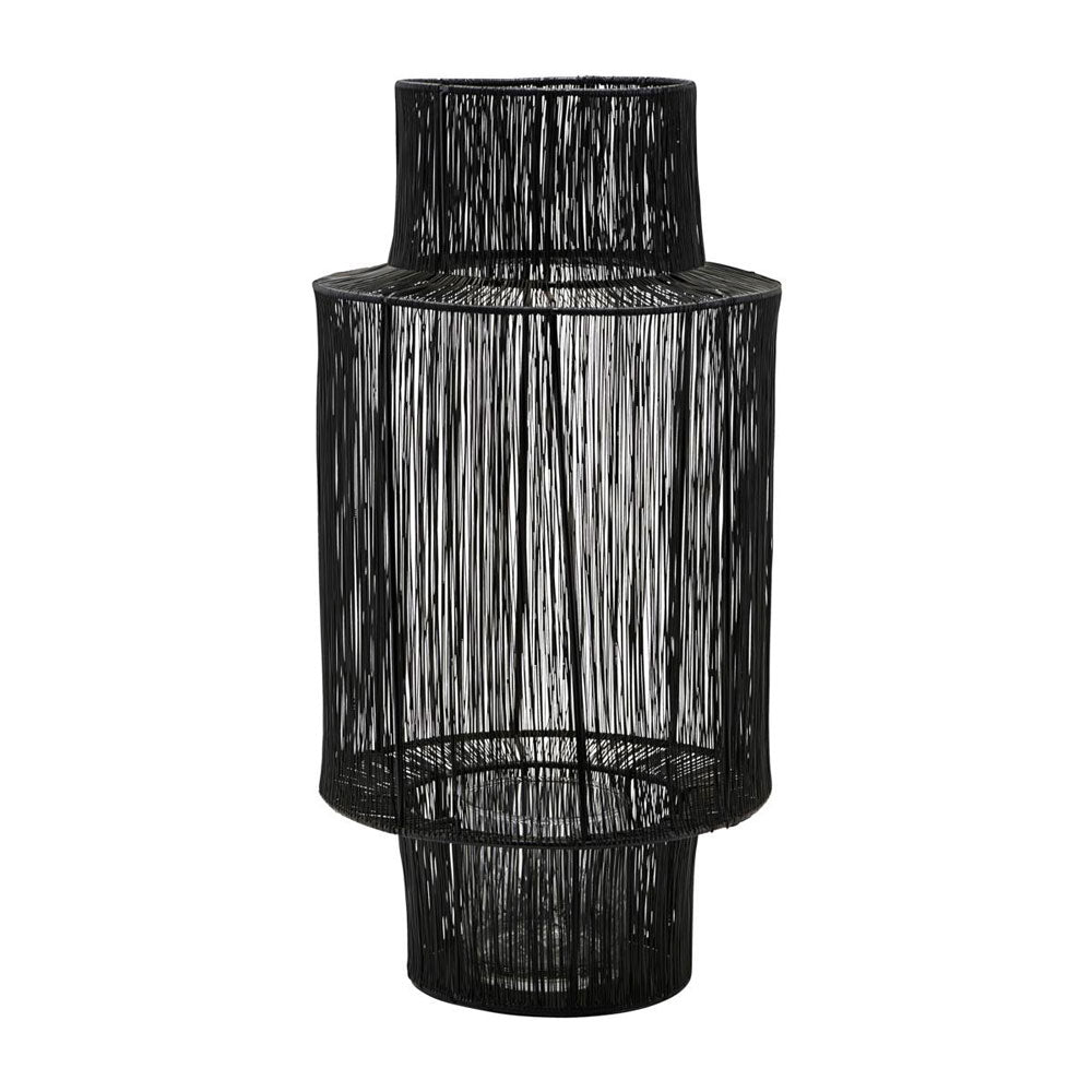 Lantern Tabia Black 45cm House Doctor