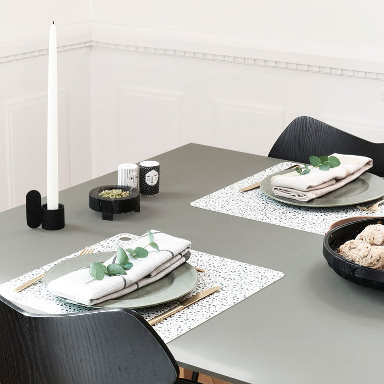 Placemat Mado - 2 Pcs/Pack - Terrazzo OYOY Living design silicone