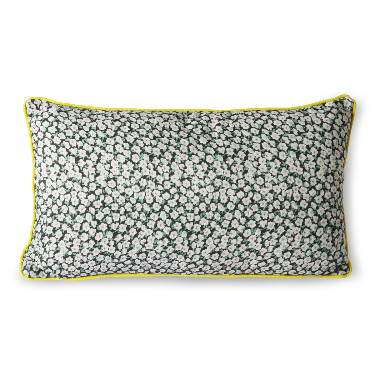 HK Living Doris for hk living: printed cushion green (35x60)