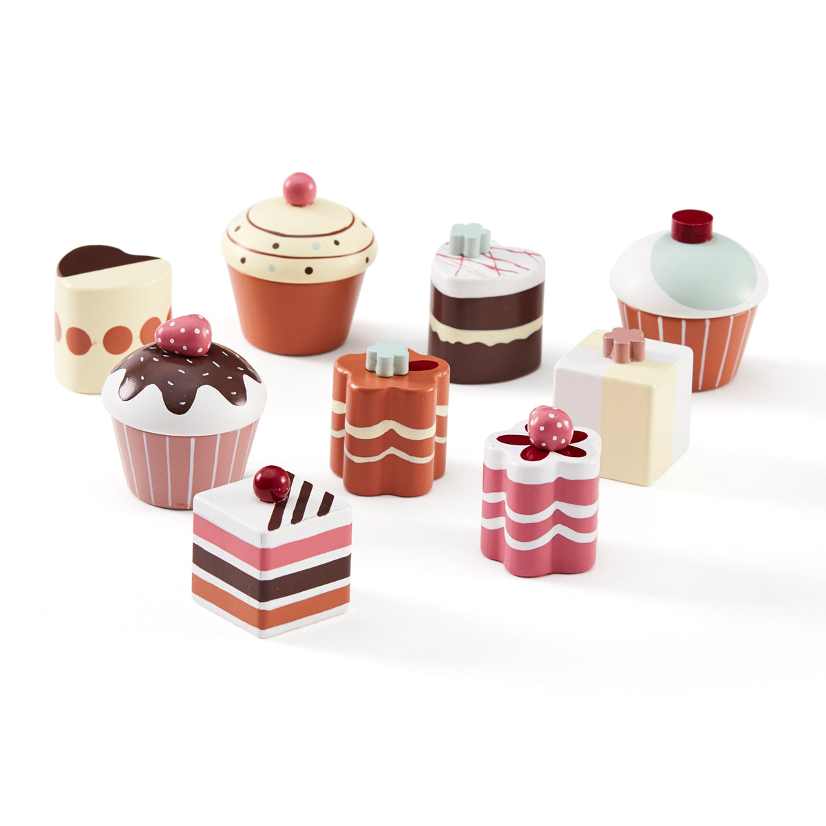 Kids Concept wooden pastries cakes