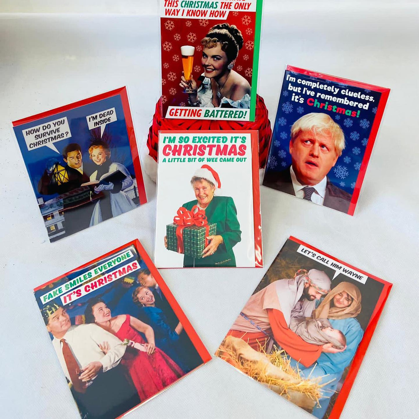 Comedy Adult Christmas Cards