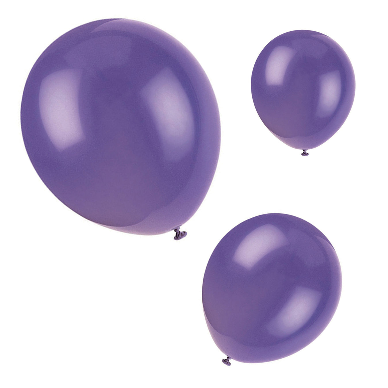 Plain Coloured Balloons (BALLOONS)