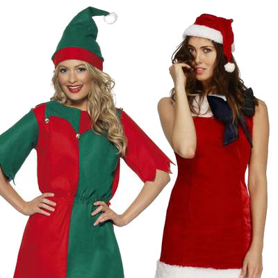 Women's Christmas Costumes (W)