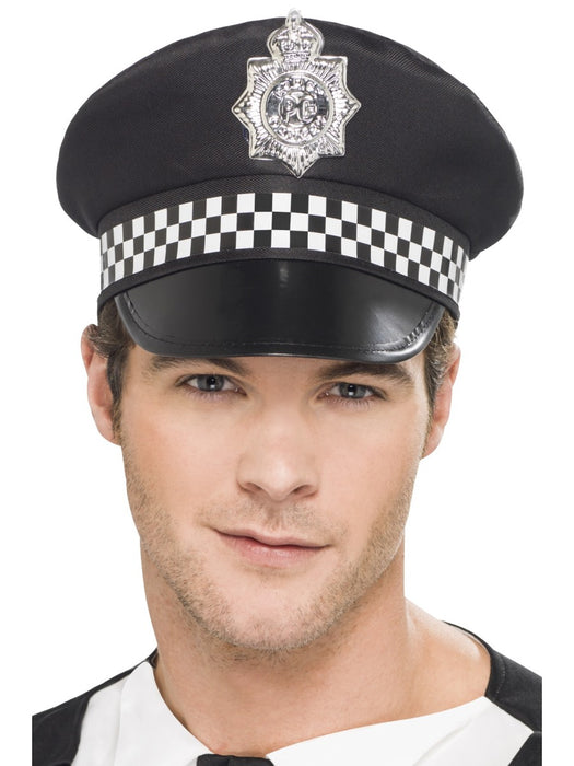 Police Panda Cap Hat - The Ultimate Party Shop