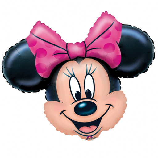 "28"" Foil Minnie Disney Large Printed Balloon - The Ultimate Party Shop"