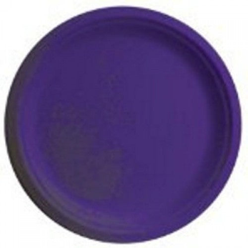 Round Paper Plates - Purple - The Ultimate Party Shop