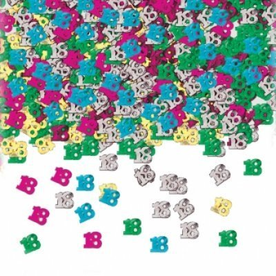 Birthday Table Confetti - Various Ages - The Ultimate Party Shop