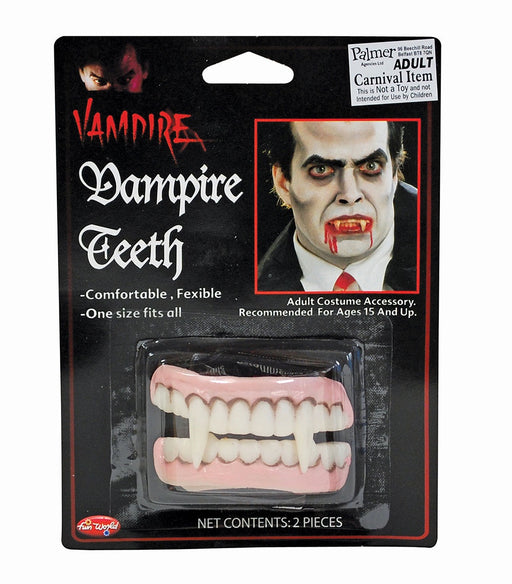 Vampire Teeth - Double Set - The Ultimate Party Shop