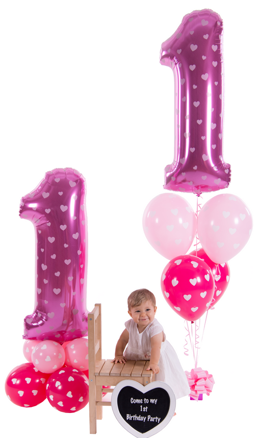 Giant number on balloon base - The Ultimate Party Shop