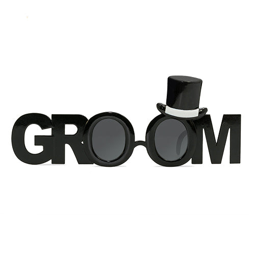 Groom Glasses - The Ultimate Balloon & Party Shop