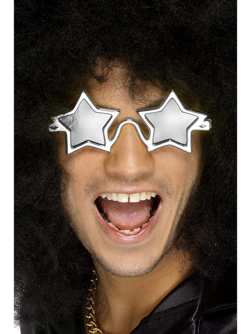 Silver Star Shaped Shades - The Ultimate Party Shop
