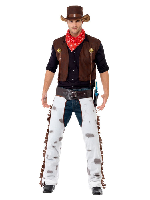 Cowboy Male Costume - The Ultimate Party Shop