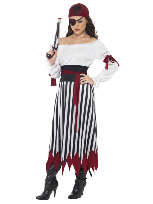 Pirate Lady (Long) Costume - The Ultimate Balloon & Party Shop