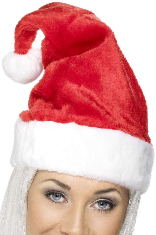 Santa Plush Hat - The Ultimate Balloon & Party Shop