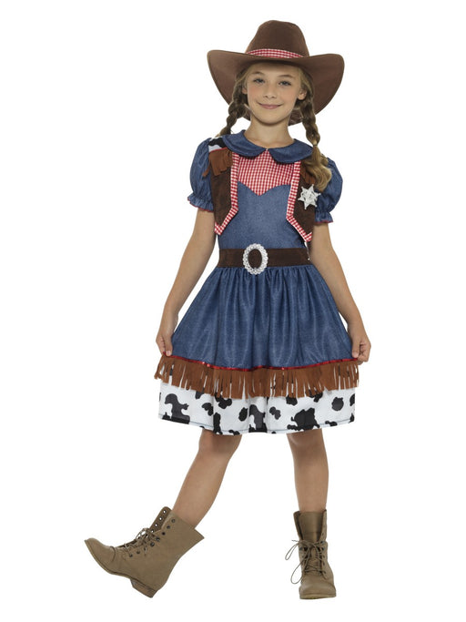 Texan Cowgirl Children's Costume - The Ultimate Party Shop
