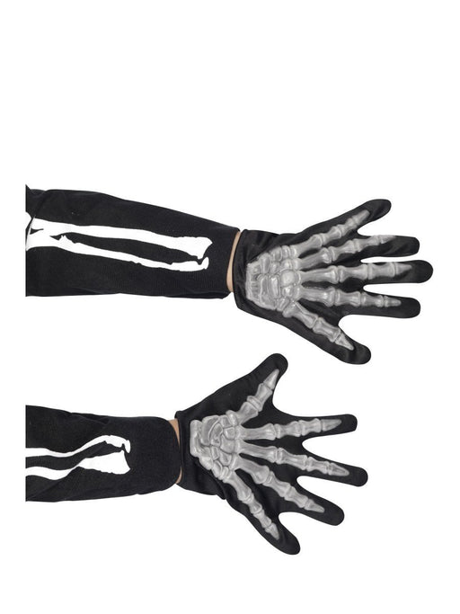 Child's Skeleton Gloves - The Ultimate Party Shop