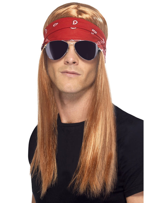 90's Rocker/Axl Rose Wig Kit