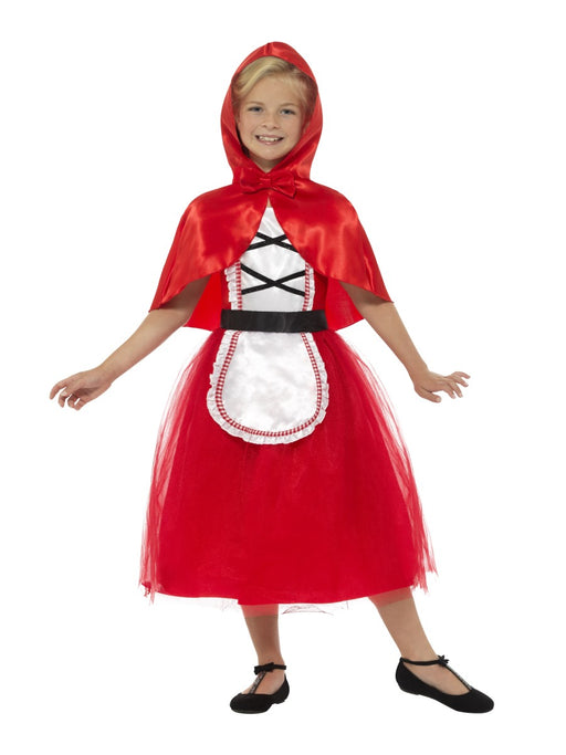 Red Riding Hood DLX Children's Costume - The Ultimate Party Shop