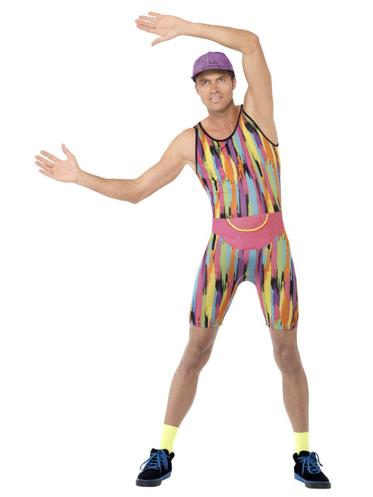 1990's Aerobics Instructor Costume - The Ultimate Party Shop