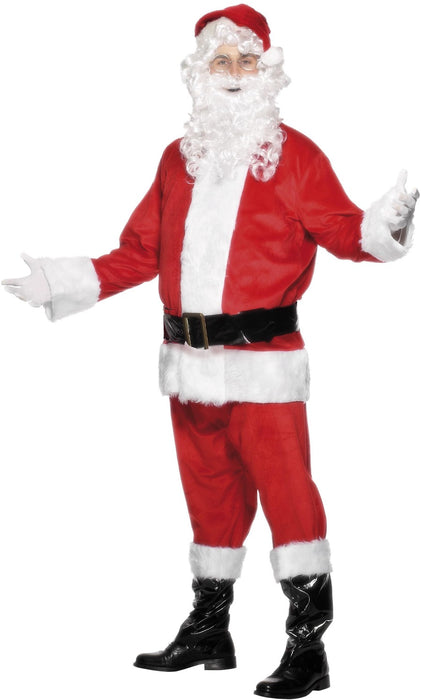 Deluxe Plush Santa Suit - The Ultimate Balloon & Party Shop
